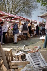 Brocante markt Heusden